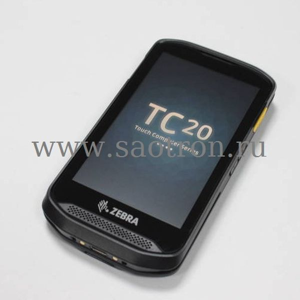 Терминал сбора данных Zebra TC20 (LAN, GMS, EDA, SE2100 no camera, 2GB/16GB, 3.5mm Audio Jack, blank back door, ROW (Not Comp. with Trigger Handle)