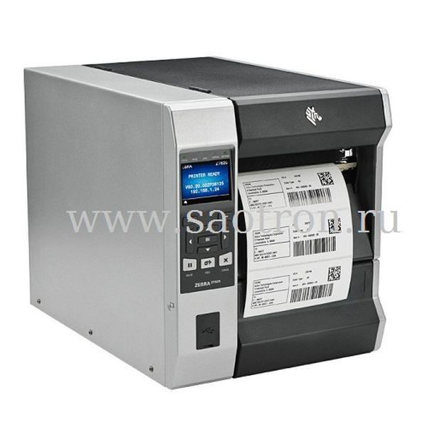 Принтер этикеток Zebra ZT62062-T0E0100Z (203 dpi, USB/RS232/Ethernet/BT) Zebra ZT62062-T0E0100Z