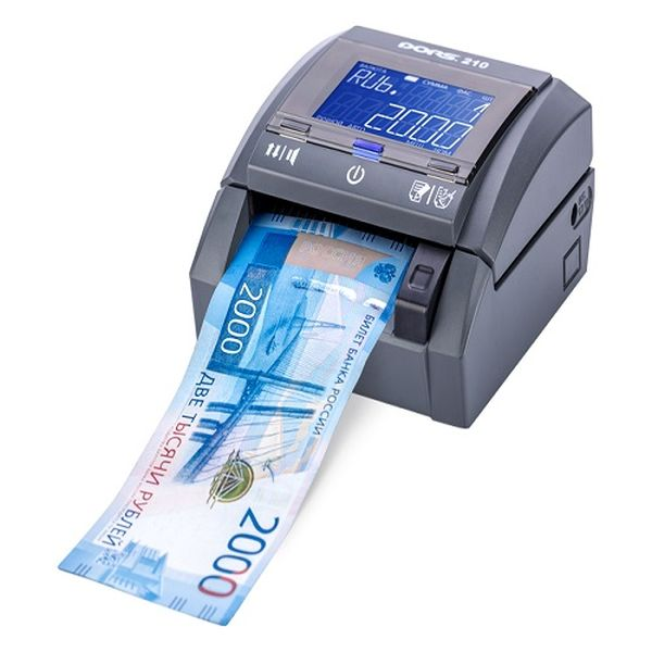 Автоматический детектор банкнот DORS 210 RUB Compact (iAS, CIS, МГ, ИК, УФ) DORS DORS210RUB