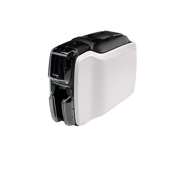 Принтер пластиковых карт Zebra ZC100 (односторонний цветной, UK/EU Cords, USB Only, Windows Driver)