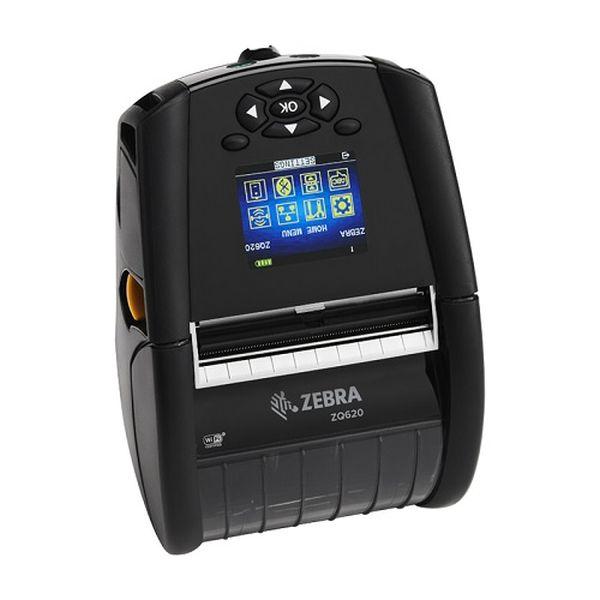 Мобильный принтер Zebra ZQ620 DT (72мм, BT4.x, Linered platen, 0.75 core, Shoulder strap, Belt clip, Media Width Sen)
