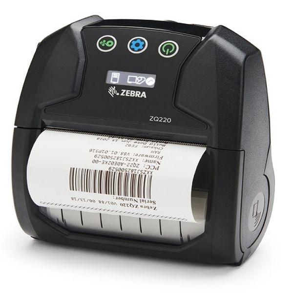 Мобильный принтер Zebra ZQ220 DT (USB, Bluetooth, ширина печати 72 мм, NFC, label&receipt printing) Zebra ZQ22-A0E12KE-00