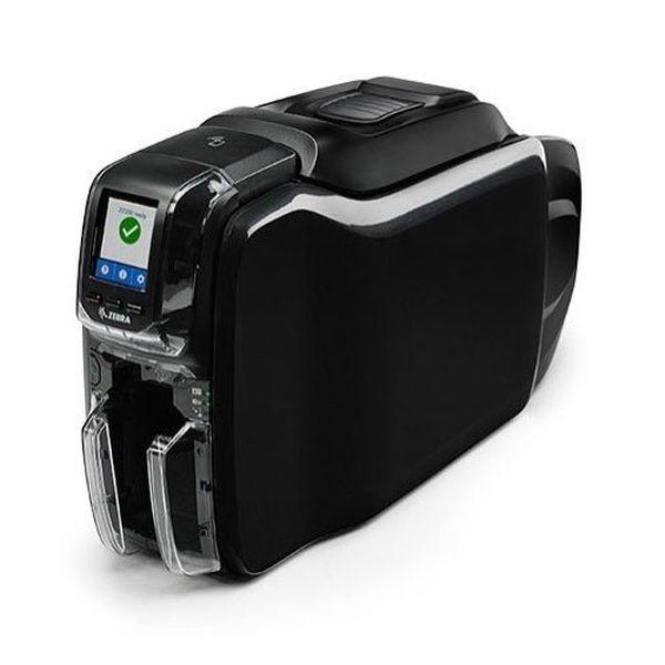 Принтер пластиковых карт Zebra ZC350 (двухсторонний, UK/EU Cords, USB, Ethernet, Windows Driver) Zebra ZC36-000C000EM00