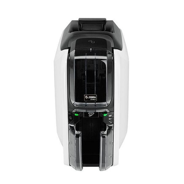 Принтер пластиковых карт Zebra ZC100 (односторонний, Single Sided, UK/EU Cords, USB & Ethernet, Windows Driver) Zebra ZC11-000C000EM00