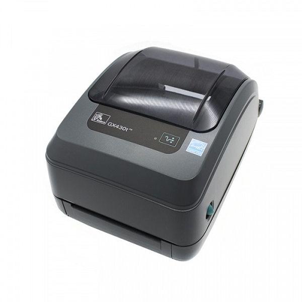 Термотрансферный принтер этикеток Zebra GX430t (300 dpi, RS232, USB, LPT, Сетевая карта 10/100 Ethernet, отделитель) Zebra GX43-102421-000