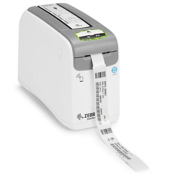 Термопринтер печати браслетов Zebra ZD510, 300 dpi, USB, USB Host, WI-FI, Ethernet, Bluetooth Zebra ZD51013-D0EB02FZ