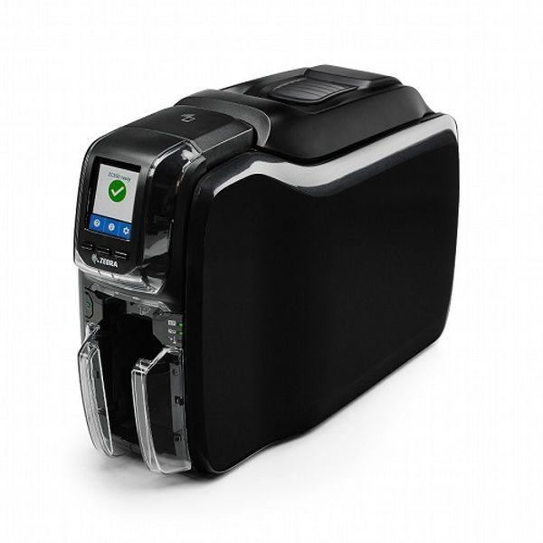 Принтер пластиковых карт Zebra ZC350 (Single Sided, UK/EU Cords, USB & Ethernet, PC/SC Contact, Contactless Mifare, ISO HiCo/LoCo Mag S/W Selectable) Zebra ZC35-AM0C000EM00