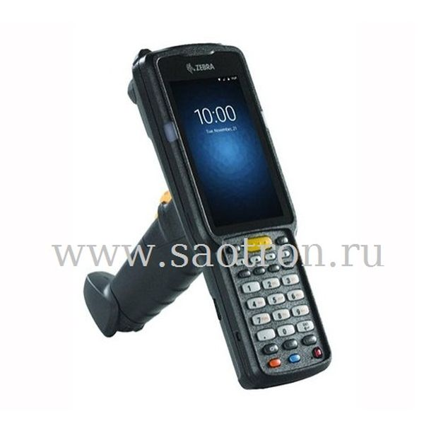 Терминал сбора данных Zebra MC330K-GI3HG3RW01 (WLAN, BT, NFC, GUN, 2D, 4.0 display, 38Key, Hi.bat, Android, 4GB RAM/16GB ROM, Sensors, AMZN ROW) Zebra MC330K-GI3HG3RW01