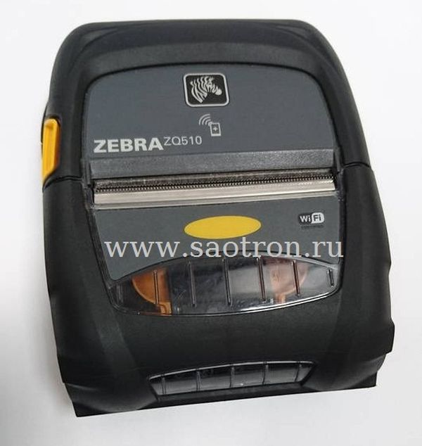 Мобильный принтер Zebra ZQ510 DT (Bluetooth 4.0, Linered Platen, English, Grouping E) Zebra ZQ51-AUE000E-00