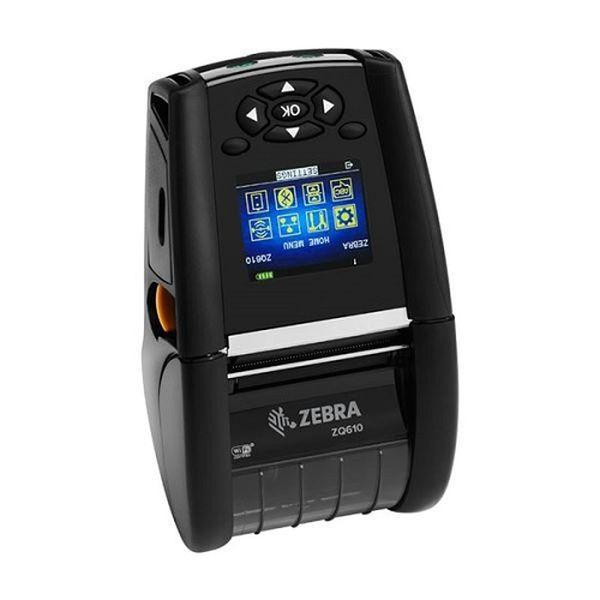 Мобильный принтер Zebra ZQ610 DT (2/48mm; English fonts,Dual 802.11AC / BT4.x, Linered platen, 0.75 core, Group E, Shoulder strap, Ext Battery) Zebra ZQ61-AUWAEC0-00