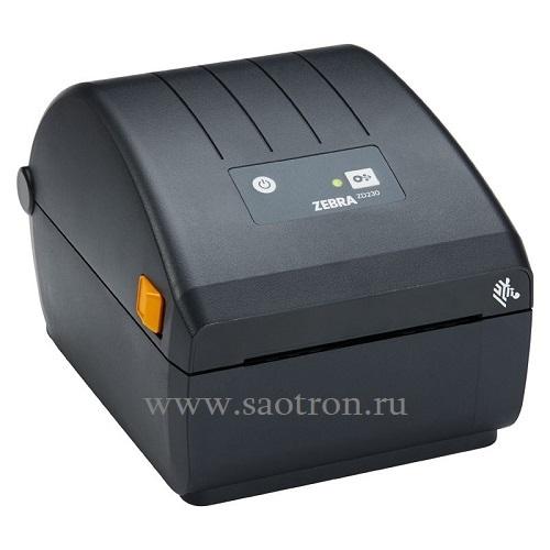Термопринтер этикеток Zebra ZD230 (203 dpi, USB, Dispenser (Peeler))
