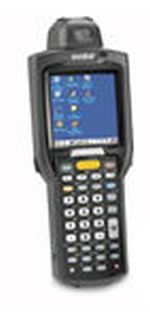 WLAN, Rotating Head, Laser, Mono Display, Win CE Core 5.0 OS, 28 Key, STD Battery, English OS, MC3090R-LM28S00KER MC3090R-LM28S00KER