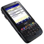 WLAN, Bluetooth, GPS/HSDPA, Image scanner, NFC, Camera, Windows Mobile 6.5, IT-800RGC-35 IT-800RGC-35