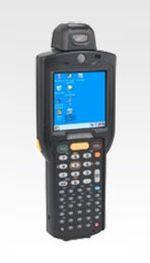 WLAN, BT, Rotating Head, 1D Laser, Color, 38 Key, St. Cap, Battery, CE 6.0 Pro, 128MB RAM/512MB ROM, Full Audio, MC3190-RL3S02E0W MC3190-RL3S02E0W
