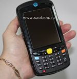 WLAN / BT, 2D Image, RAM/1GB Flash, Qwerty, WM6.5, Color, 3600 mAh, MC55A0-P30SWQQA9WR MC55A0-P30SWQQA9WR