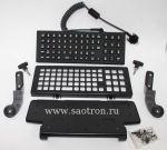 Клавиатура  (QWERTY, 65-key Backlit, IP66, secured USB-A, VC70) Zebra / , KT-KYBDQW-VC70-04R KT-KYBDQW-VC70-04R