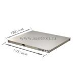 нержав. сталь НПВ: 1500кг, Размер платформы мм: 1250*1000*100, 4D-P.SP-2-1500 4D-P.SP-2-1500