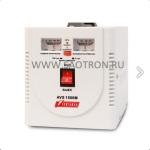 ступенчатый регулятор, стрелочные индикаторы уровней напряжения, 1500ВА, 140-260В, 10А, AVS1500M AVS1500M