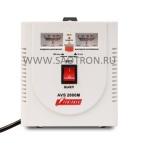 ступенчатый регулятор, стрелочные индикаторы уровней напряжения, 2000ВА, 140-260В,12А, AVS2000M AVS2000M