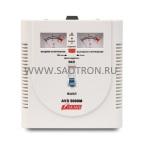ступенчатый регулятор, стрелочные индикаторы уровней напряжения, 5000ВА, 140-260В, 24А, AVS5000M AVS5000M