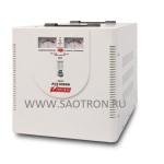 ступенчатый регулятор, стрелочные индикаторы уровней напряжения, 8000ВА, 140-260В, 40А, AVS8000M AVS8000M