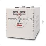 ступенчатый регулятор, стрелочные индикаторы уровней напряжения, 10000ВА, 140-260В, 50А, AVS10000M AVS10000M