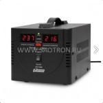 AVS-D   ступенчатый регулятор, цифровые индикаторы уровней напряжения, 500ВА, 140-260В, 5А, AVS500DBlack AVS500DBlack