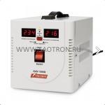 ступенчатый регулятор, цифровые индикаторы уровней напряжения, 1500ВА, 140-260В, 10А, AVS1500D AVS1500D