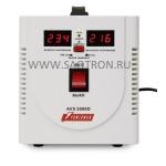ступенчатый регулятор, цифровые индикаторы уровней напряжения, 2000ВА, 140-260В, 12А, AVS2000D AVS2000D