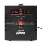 ступенчатый регулятор, цифровые индикаторы уровней напряжения, 2000ВА, 140-260В, 12А, AVS2000DBlack AVS2000DBlack