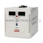 ступенчатый регулятор, цифровые индикаторы уровней напряжения, 5000ВА, 140-260В, 24А, AVS5000D AVS5000D