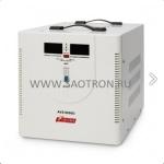 ступенчатый регулятор, цифровые индикаторы уровней напряжения, 8000ВА, 140-260В, 40А, AVS8000D AVS8000D