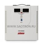 ступенчатый регулятор, цифровые индикаторы уровней напряжения, 10000ВА, 140-260В, 50А, AVS10000D AVS10000D