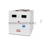 ступенчатый регулятор, цифровые индикаторы уровней напряжения, 15 KВА, 140-260В, 80А, AVS15000D AVS15000D