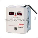 AVS-P   ступенчатый регулятор, 500ВА, 110-260В, 5А, 2 евророзетки, IP-20, навесной, AVS500P AVS500P