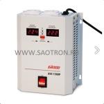 ступенчатый регулятор, 1500ВА, 110-260В, 12А, 2 евророзетки, IP-20, навесной, AVS1500P AVS1500P