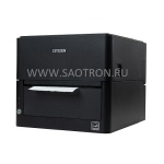 прямая термопечать, RS-232 , USB 2.0, Ethernet, 300 dpi, черный, CLE303XEBXXX CLE303XEBXXX