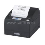 DT, RS232, USB, Internal 230V PSU, PNE Sensor, черный, CTS4000RSEBKL CTS4000RSEBKL