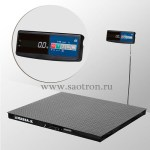 НПВ:3000кг, RS-232, платформа 1500мм х 1200мм, конструкционная сталь, 4D-PM-15/12-3000-A 4D-PM-15/12-3000-A