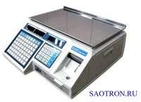 Торговые весы с клавиатурой и дисплеем CAS LP-R - для печати этикеток