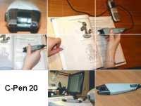 Ручной сканер C-Pen 20 USB