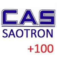 Акция CAS плюс сто - при покупке весового оборудования CAS